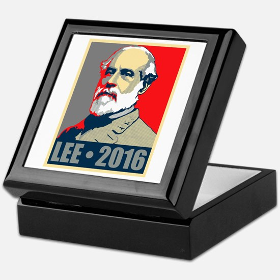 Lee for President Keepsake Box