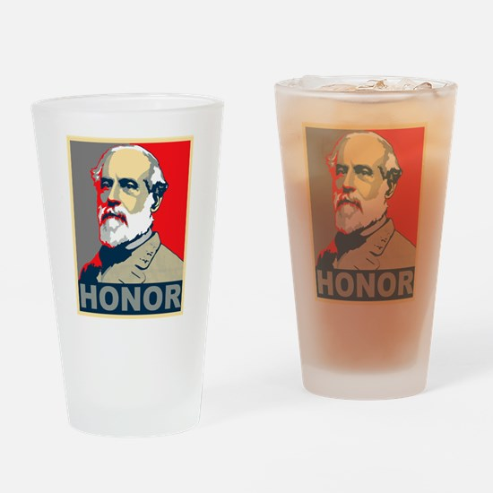 General Lee Drinking Glass