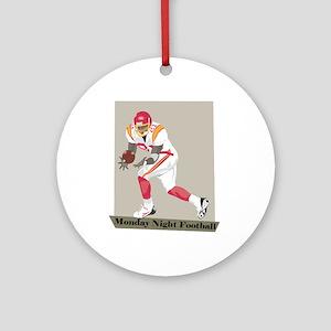 Monday Night Football Ornament (Round)