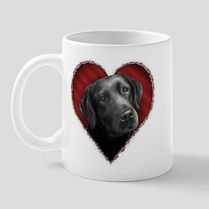 Labrador Retriever Valentine Mug