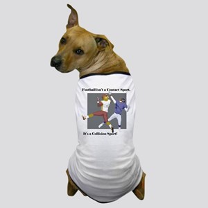 Collision Football Dog T-Shirt