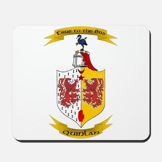 Irish Flag motto Mousepad