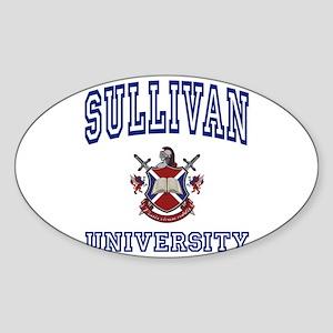 SULLIVAN University Oval Sticker