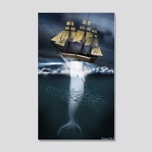 MobyDick  20x12 Wall Decal