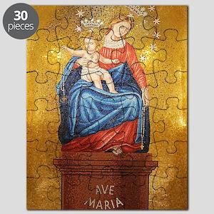 Lady of Pompeii Puzzle