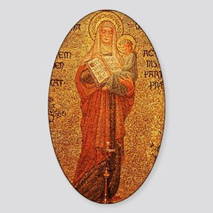 Saint Anne Sticker (Oval)