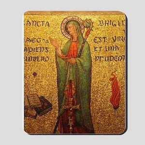 St Brigid of Ireland Mousepad