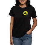Witch On Broom - Women's Dark T-Shirt