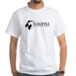 White T-Shirt w/Black Logo