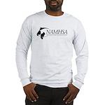 Long Sleeve T-Shirt w/Black Logo