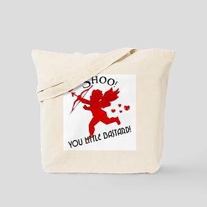 Shoo fly Cupid Anti-Valentine Tote Bag