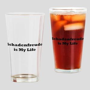 Schadenfreude-bumper3 Drinking Glass
