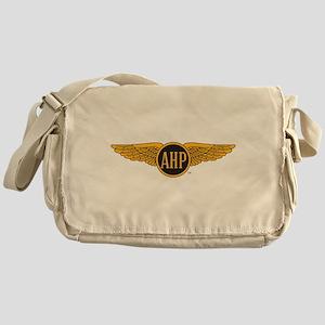 Alpha Eta Rho Wings Messenger Bag