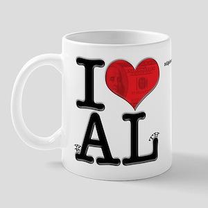 I Love weALth Mug