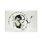 The thunder god Rectangle Magnet (100 pack)