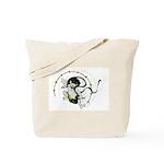 The thunder god Tote Bag