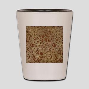 William Morris Poppy  Shot Glass