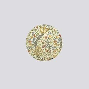 William Morris Floral Mini Button