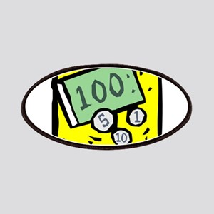 100 Dollar Bill Patches