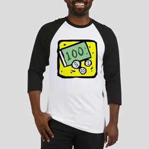 100 Dollar Bill Baseball Jersey