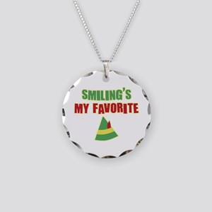 Elf Smiling's Favorite Necklace Circle Charm