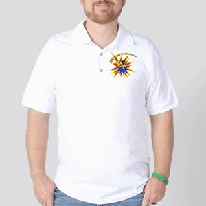 Mighty Mouse Save the Day Golf Shirt