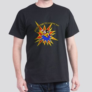 Mighty Mouse Save the Day Dark T-Shirt