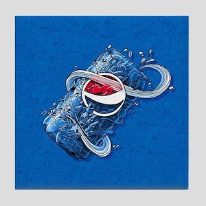 Pepsi Can Doodle Tile Coaster