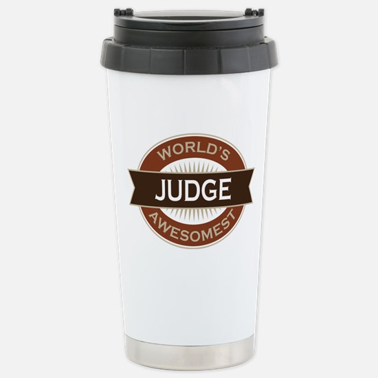 Judge (World's Awesomest) Stainless Steel Travel M