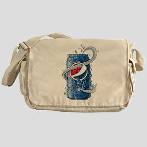 Pepsi Can Doodle Messenger Bag