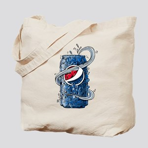 Pepsi Can Doodle Tote Bag