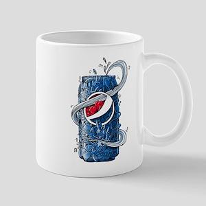 Pepsi Can Doodle 11 oz Ceramic Mug