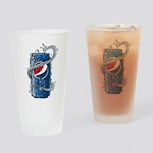Pepsi Can Doodle Drinking Glass