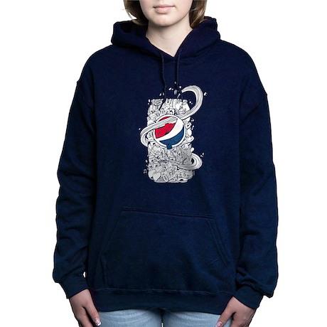 Pepsi Possono Scarabocchiare Delle Donne Maglia Con Cappuccio LC226ttE
