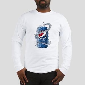 Pepsi Can Doodle Long Sleeve T-Shirt