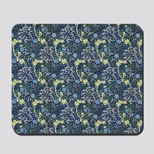 William Morris Blue Daisies Mousepad
