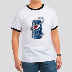 Pepsi Can Doodle Ringer T