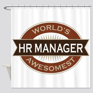 HR Manager Shower Curtain