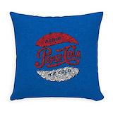 Pepsi Burlap Pillows