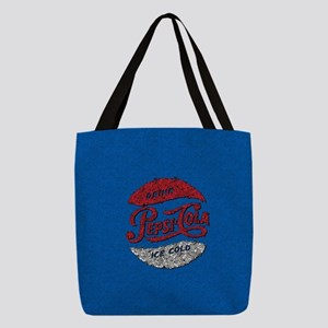 Pepsi Logo Doodle Polyester Tote Bag