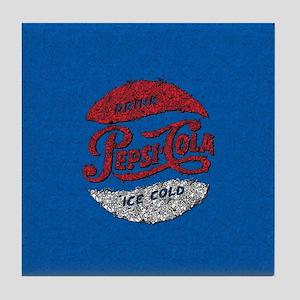 Pepsi Logo Doodle Tile Coaster