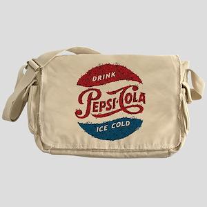 Pepsi Logo Doodle Messenger Bag