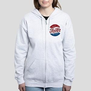 Pepsi Logo Doodle Women's Zip Hoodie