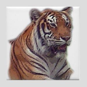 tiger 6 Tile Coaster