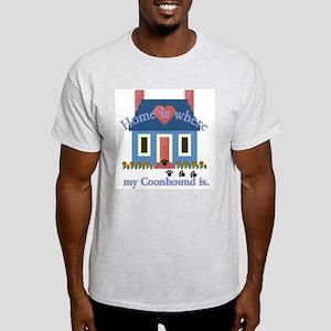 Treeing Walker Coonhound Ash Grey T-Shirt