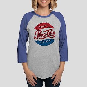 Pepsi Logo Doodle Womens Baseball Tee