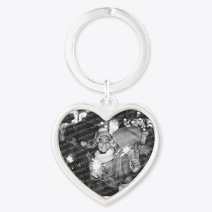 Add Your Photo Heart Keychain Keychains