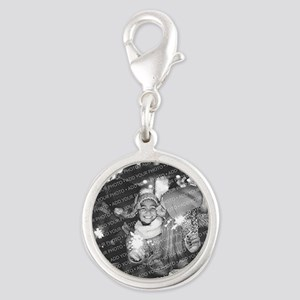 Add Your Photo Silver Round Charm Charms
