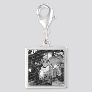 Add Your Photo Silver Square Charm Charms