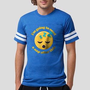 Need a Nap Emoji Mens Football Shirt